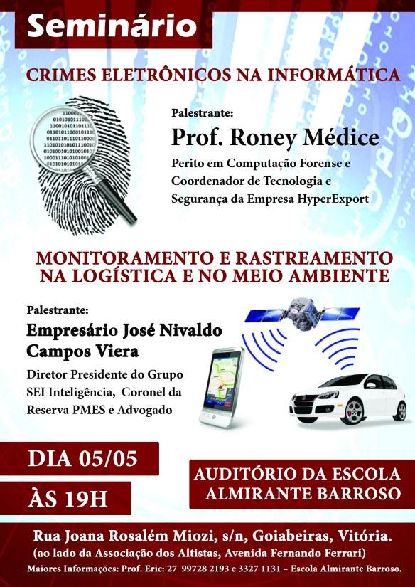 Seminário sobre Crimes Eletrônicos - 05/04/14
