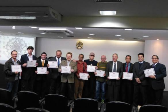 Certificados emitidos aos conselheiros do Conselho de Usuários da Embratel/Claro/NET da Região Sudeste - OAB-SP