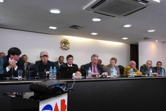 Palavra franqueada aos conselheiros no auditório da OAB-SP.