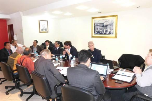 Trabalhos ordinários dos Conselheiros no período da tarde - OAB-SP.